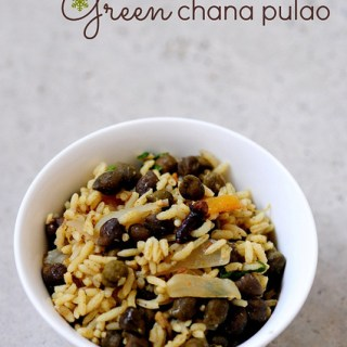 Green Channa Pulao Recipe | Chana Pulav Recipe | Step by Step