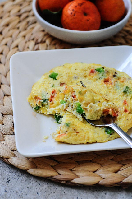 Masala Omelette Recipe - Indian Omelet Recipe
