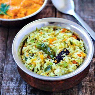 Vegetable Pulao Recipe, Easy Veg Pulao Step by Step