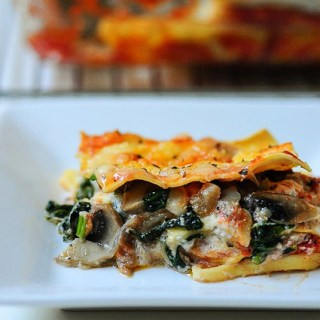 Vegetarian Lasagna Recipe – Spinach & Mushroom Lasagna Recipe