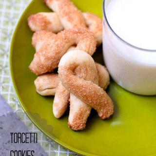 Torcetti Cookies Recipe – Mini Torcetti or Italian Twisted Cookies Recipe