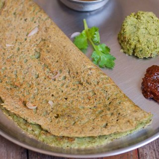 Pesarattu Recipe, Andhra Pesarattu with Green Moong Dal