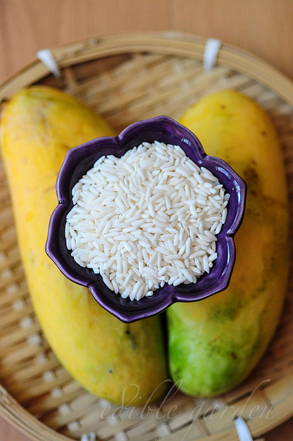 Thai Mango Sticky Rice Dessert Recipe
