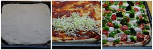 homemade pizza crust recipe step by step
