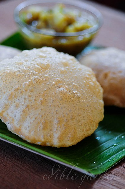 poori recipe-how to make puri
