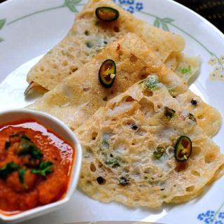 Quick Instant Rava Dosa – Onion Rava Dosa Recipe (Step by Step)