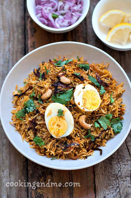 egg biryani recipe