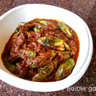 Brinjal Vindaloo Recipe – Vegetarian Vindaloo Recipe with Brinjal
