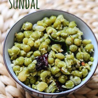 Green Peas Sundal, South Indian Navaratri Recipes