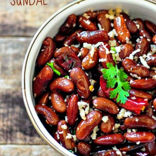Rajma Sundal – South Indian Rajma Sundal Recipe for Navaratri