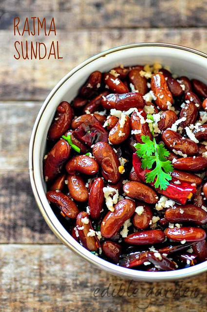 rajma sundal-kidney beans sundal south indian navratri recipe-7