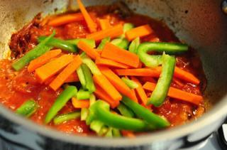 paneer jalfrezi recipe-how to make paneer jalfrezi at home-7