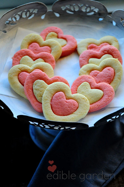 sweetheart sugar cookies for valentines day