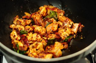 Chettinad Pepper Chicken Masala Recipe