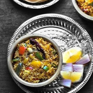 Capsicum Rice Recipe – How to Make Capsicum Masala Rice