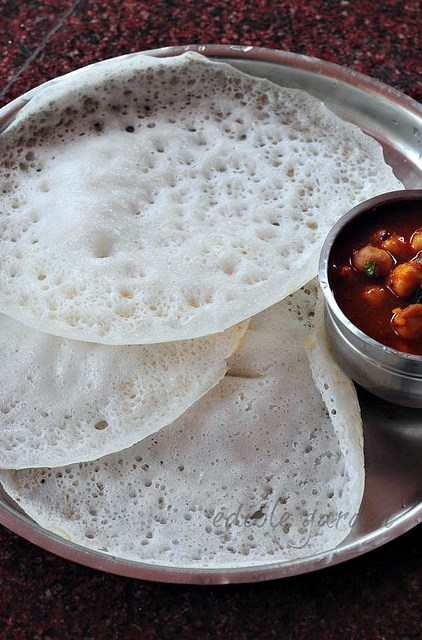 kerala appam recipe with yeast-appam recipe