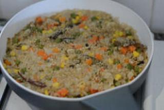 quinoa vegetable pulao-indian quinoa recipes-8