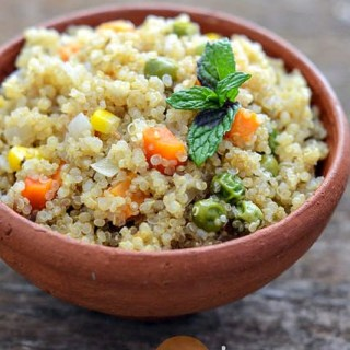 Quinoa Vegetable Pulao Recipe – Easy Indian Recipes with Quinoa (Step by Step)