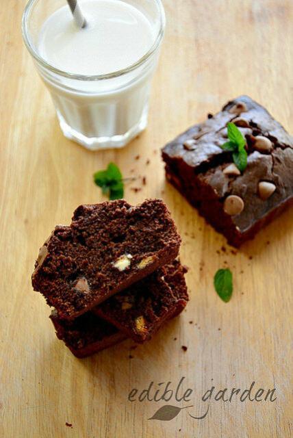 atta jaggery brownie recipe-whole wheat brownies