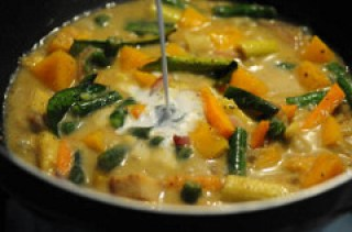 vegetarian thai green curry recipe-12