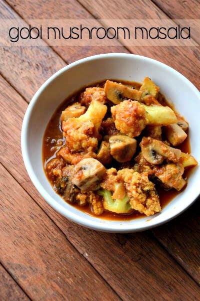 gobi mushroom masala recipe