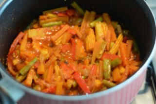 vegetable jalfrezi recipe, vegetable jalfrezi-8