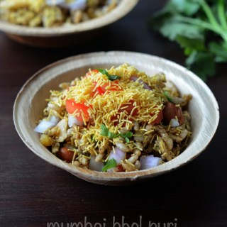 Bhel Puri Recipe, How to Make Bhel Poori Step by Step