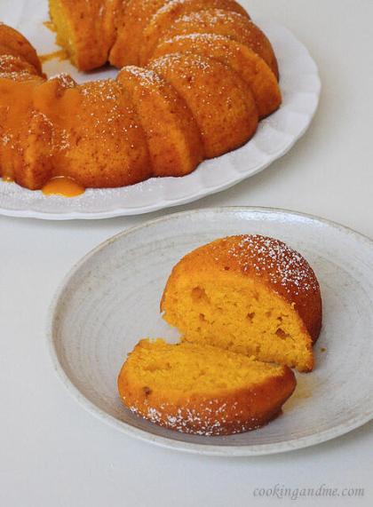 easy mango recipes to use up ripe mangoes-mango bundt cake
