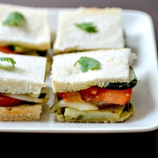 Vegetable Sandwich Recipe – Bombay Veg Sandwich, Step by Step