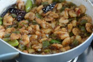 chilli prawns recipe, step by step-15
