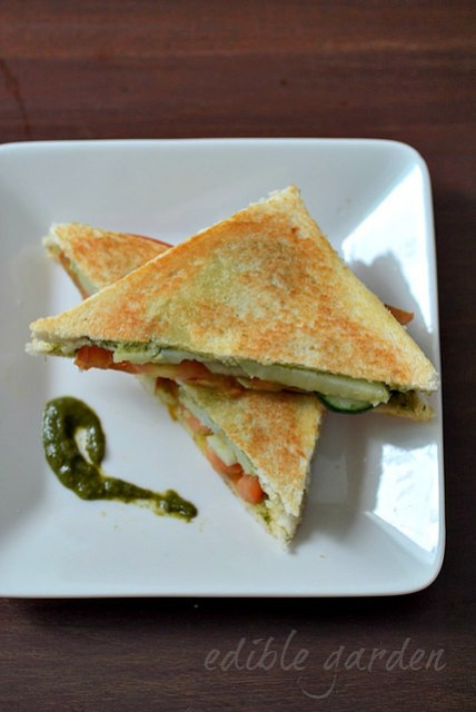 grilled vegetable sandwich recipe
