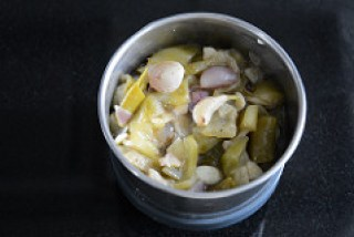 ridge gourd pachadi, beerakaya pachadi recipe-6