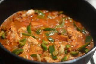 chicken jalfrezi recipe, pakistani chicken jalfrezi-8