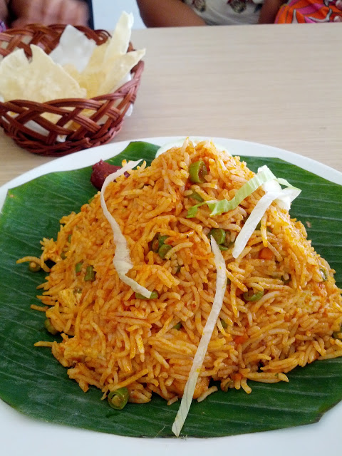 Manchurian Fried Rice   Gokul Vegetarian Restaurant Singapore