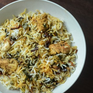 chicken dum biryani recipe, how to make chicken dum biryani