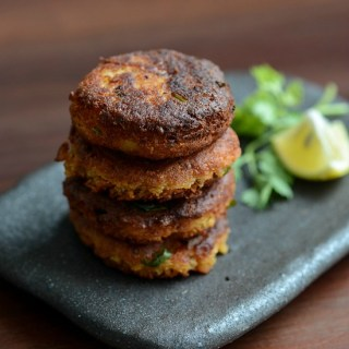 Chickpea Potato Patties, Chickpea Aloo Patties Recipe