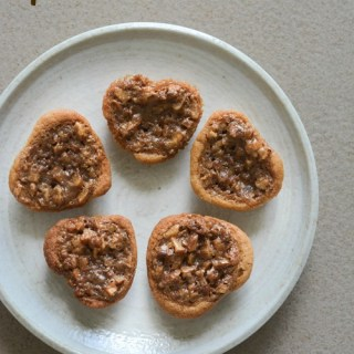 Pecan pie bites, mini pecan pie recipe step by step