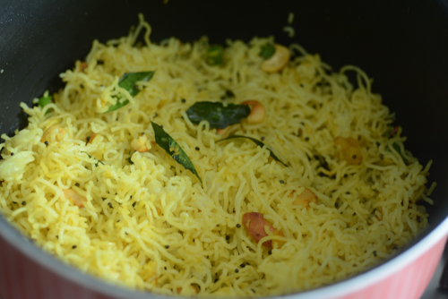 Lemon Sevai Recipe, Easy Lemon Idiyappam