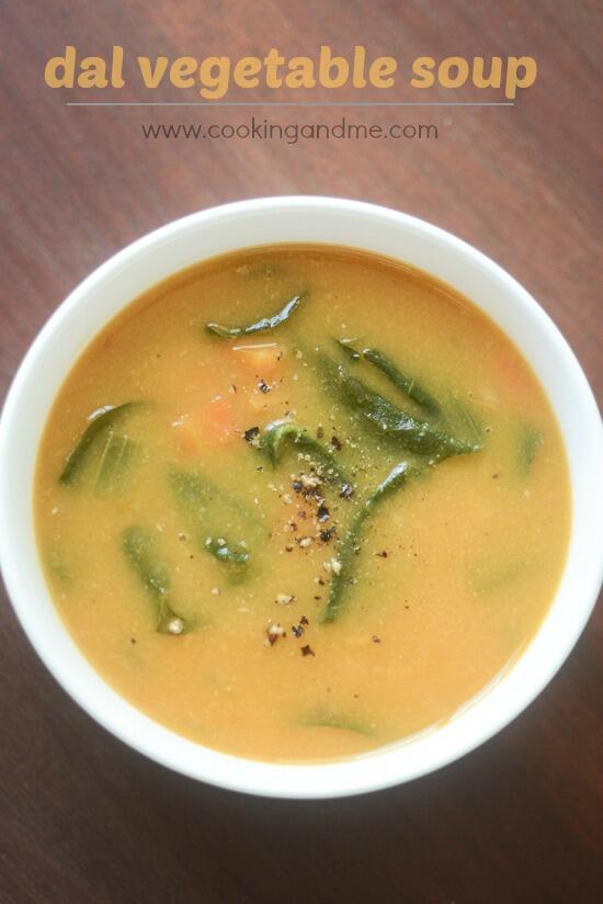 dal vegetable soup lentil soup recipe