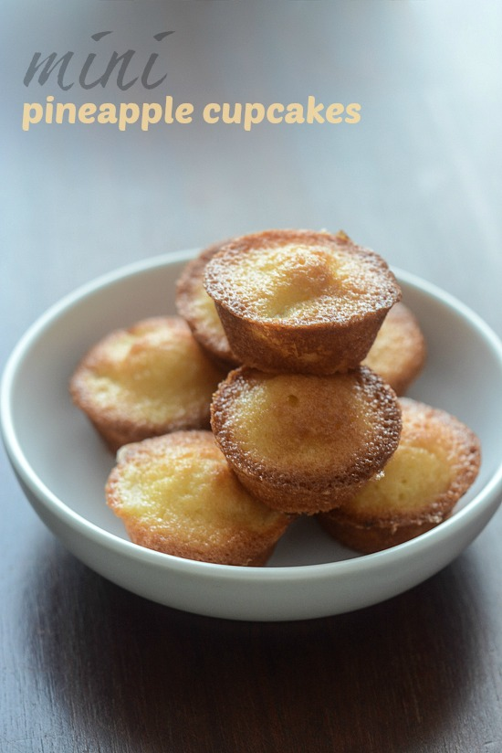 pineapple cupcake recipe