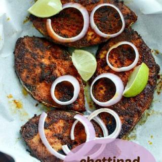 Chettinad fish fry recipe, how to make Chettinad fish fry