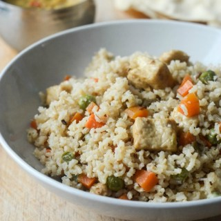 vegetable paneer biryani with brown rice recipe
