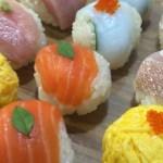 てまり寿司のレシピ