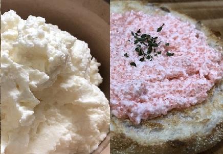 5分でできる簡単ホイップクリーム・たらこのホイップクリームスプレッド