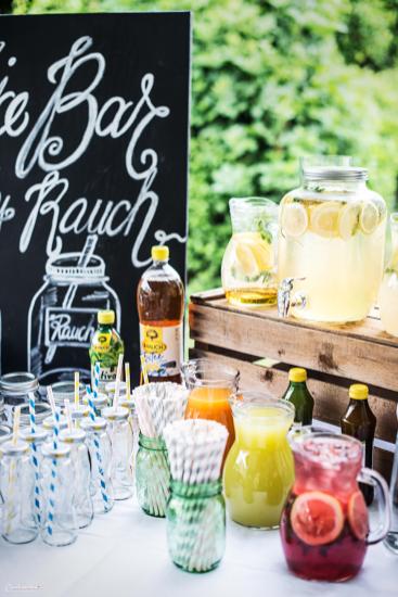 Juice Bar zum Selbstbedienen