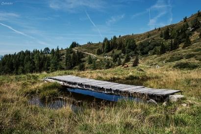 Abstieg zur Lammersdorfer Hütte
