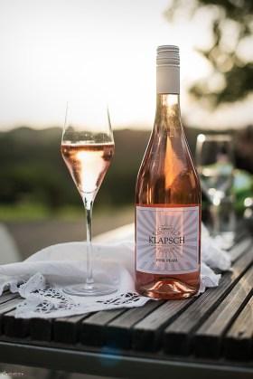 Pink Pearl am Weingut Klapsch