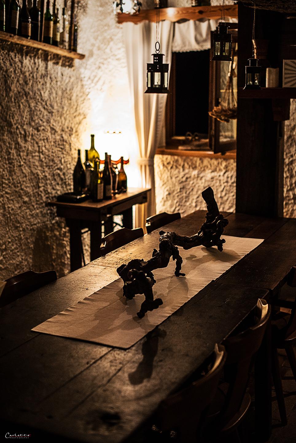 Stube in der alten Weinpresse
