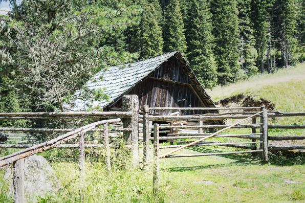 Almhütte im Salzburger Lungau