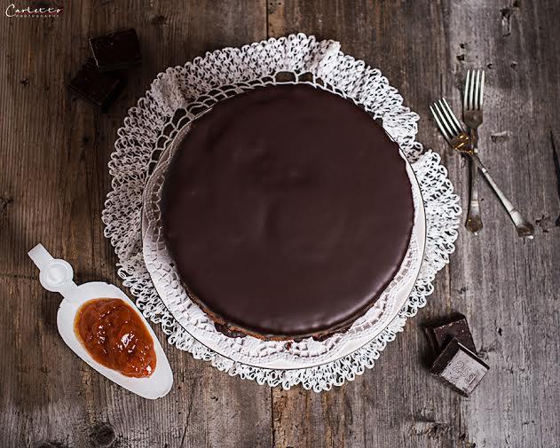 Schokoladen Layer Cake